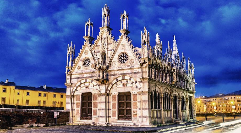 Gel Bird Free Chiesa della Spina, Pisa