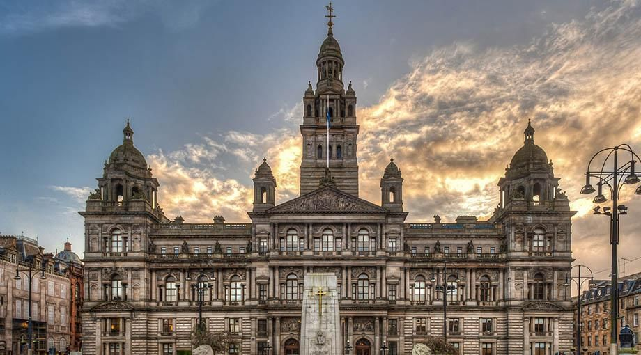 Gel Bird Free Glasgow City Chambers